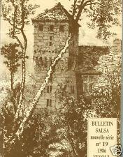 SALSA = Bulletin 1986 = Sté historique de VESOUL N° 19