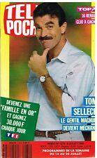 C- Télé Poche N°1274 Tom Selleck Magnum,Jerry Hall