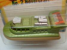 1976 MATCHBOX LESNEY SUPERFAST #2 RESCUE HOVERCRAFT MOC