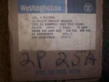 New Westinghouse Fa Fa2190M 2 pole 25 amp 600V Breaker
