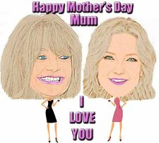 Personalised MOTHER'S DAY CARICATURE MUG using YOUR PHOTO/S