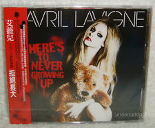 Avril Lavigne Here's To Never Growing Up Taiwan CD w/OBI
