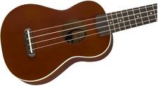 Natural Fender Venice Soprano Ukulele Walnut Fingerboard NEW