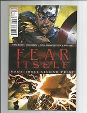 Fear Itself Book Three Second Print Nm- White Modern Age Comic 2011