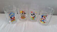 2000 McDonald's Disney's Mickey Mouse Complete Millinium Glass Set of 4