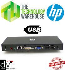 HP Compaq HSTNN-S01X USB 2.0 Docking Station Port Replicator - 497652-001