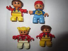 lego duplo lot de 4 enfants  - personnages
