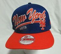 New Era New York Mets 9Fifty 950 MLB Blue Snapback Hat Cap