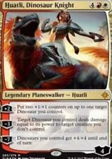 [1x] Huatli, Dinosaur Knight - Planeswalker Deck Exclusive [x1] Ixalan Near Mint