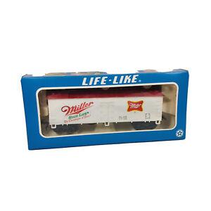 HO Life-Like Miller High Life 40' Advertising Beer Reefer B3