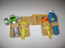 Fisher Price Sesame Street Toy Tool Belt Set Toddler Preschool Oscar Elmo RARE