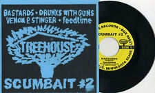 "V/A - Scumbait #2 7"" Bastards Drunks With Guns Venom P. Stinger Feedtime Noise"