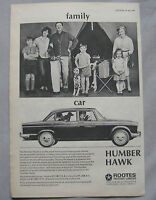1966 Humber Hawk Original advert