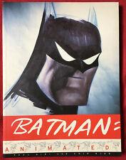 BATMAN ANIMATED Bruce Timm Paul Dini Chip Kidd 1998 VERY RARE