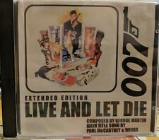 George Martin Paul McCartney James Bond Live And Let Die Extended Edition CD