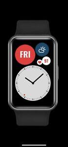 Huawei WATCH Fit Smart Watch AMOLED GPS HR Sensor Black Global (No Box)