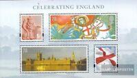 GB-England Block1 (kompl.Ausg.) postfrisch 2007 Nationalfeiertag