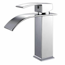 Basin Faucet Brass Bathroom Sink Faucets Mixer Tap Vanity Chrome Single Hole Tap