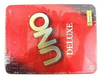 UNO Deluxe Mattel Tin Vintage Rare B0001 Toys Board Game Toys R US Exclusive