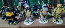 TMNT Minimates LOT with Rare Vision Quest Splinter Ninja Turtles Mini Figures