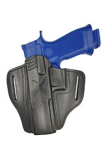 U25Li Lederholster Gürtelholster Holster für Sig Sauer P320 X-Five Linkshänder