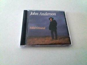 """JOHN ANDERSON """"SOLID GROUND"""" CD 10 TRACKS COMO NUEVO"""