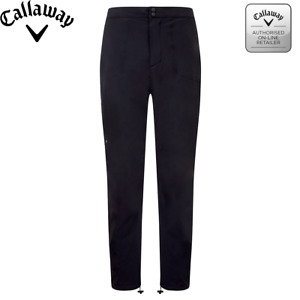 "Callaway Golf Men's WATERPROOF Trousers s/m/l/xl 29""/31""/33"" leg cgbf8050"