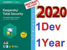 KASPERSKY Total Security 2020 1 Pc 1 Year Device-The Most Powerful Protection!⚡