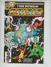 Crisis On Infinite Earths 1 NM (9.4) 4/85 Perez cover! 1st DC Blue Beetle!