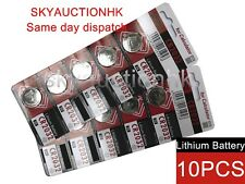 10x CR2032 NEW 3V cell coin button battery Japan Ed 12-2027