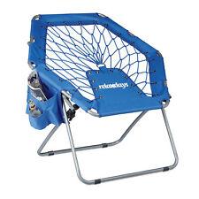 Bungee Stuhl WEBSTER, elastische Federung, Bungee Chair faltbar Festival Sessel