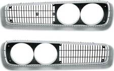 1970 Dodge Coronet, Super Bee, 500, R/T, Front Grill Assembly - Pair