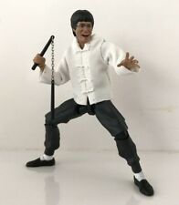 NOX-BLJ-WHT: FIGLot White Mandarin Jacket for Bandai SHF Bruce Lee (No Figure)