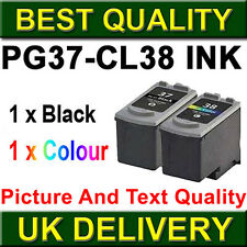 2 Ink Cartridge For Canon PG37 CL38 MP210 MP220 MP140 MX300 MX310 MP470