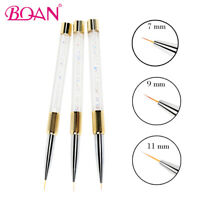 1 PC Nail Liner Paint Brush Drawing Brush Pen 7mm/9mm/11mm Manicure Art Tool