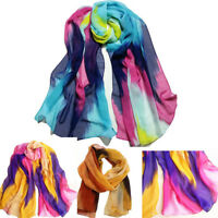 Fashion Women Fashion Chinese Ink Style Wrap Lady Shawl Chiffon Scarf Scarves X1