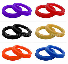 (4) COLORED HUBRINGS HUB CENTRIC RINGS 73.1 to 54.1 TOYOTA GEO PRIUS COROLLA