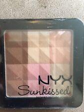 NYX Sunkissed Radiant Finishing Powder Single Long Lasting Bronzing All Skin Typ