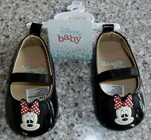 Disney Baby Shoes, 3-6 Months, Minnie Mouse, New With Tags
