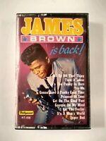 James Brown Is Back, cassette tape