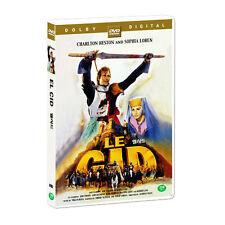 El CID (1961) Charlton Heston All Region IMPORT Widescreen NTSC DVD 1961