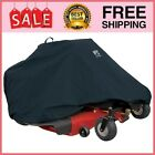 """Zero Turn Riding Mower Cover, Up to 60"""" Decks,Black,60 in"""