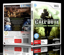 (Wii) Call Of Duty: Modern Warfare (Reflex Edition) (MA) PAL, Guaranteed,Cleaned