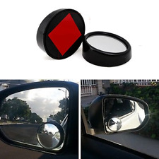 Black 50mm 360 Rotation Adjustable Car Suv Truck Blind Spot Side Mirror x2