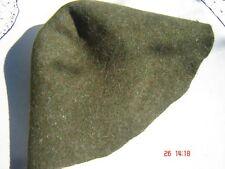 Hutstumpen Stumpen  Filz Zubehör Wolle mit Stichel  Zubehör Stumpen oliv 22-1