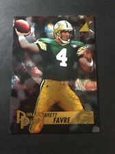 1995 pinnacle brett favre pinnacle passer artist's proof #199