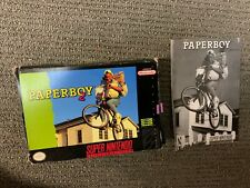 Paperboy 2 Paper Boy SNES SUPER NINTENDO Box and Manual ONLY No Game!