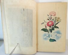 M. E. Nichols, Godey's lady's book for 1850, américan old diary ( vergin)