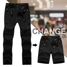 Fishing Unisex Trousers Outdoor Pants Hiking Detachable Quick Dry Climbing