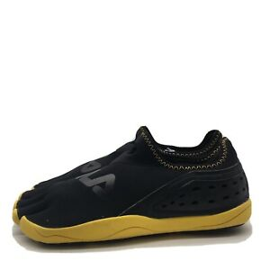 Fila Sport Skele-Toes Water Shoes Mens Black Yellow Minimalist Size 11